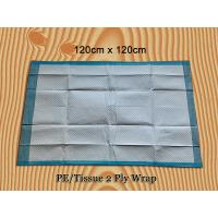 Waterproof Disposable Incontinence Bed Pads Absorbent Underpads Anti - Allergic Manufactures