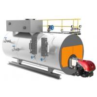 Horizontal Oil Gas Fired Steam Generator Boiler Full Automatic Reliable Performance Manufactures