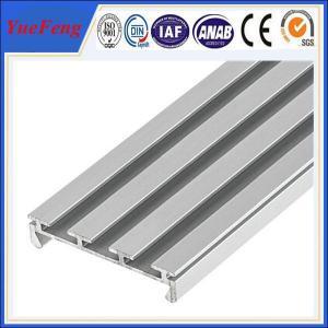 6063 T5 led aluminum profile 3~6m anodized/powder coating aluminium u tube/channel Manufactures