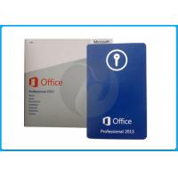 Office 2013 Home And Business Key Retail Oem Pack / Microsoft Office Standard 2013 Manufactures