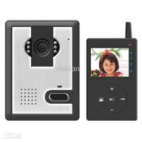 Quality 2.5 inch TFT LCD,Multicolor digital wireless video intercom doorbell phone,2.4G digital wireless for sale