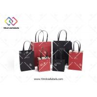 Multi Color Custom Paper Bag Single Color Printing With PP Rope Handles Manufactures