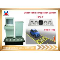 China Fixed Under Vehicle Inspection System Car Bomb Scanner for Vehicle Scanning on sale