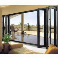 Aluminum Alloy Folding Door with High Sound Insulation Level, Measuring 3,000 x 2,200mm Manufactures