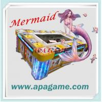 10P Fishing Game 3D Mermaid classical fish catching arcade game machine Manufactures