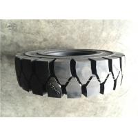 Professional OEM  Industrial  rubber airless solid forklift tyre Manufactures