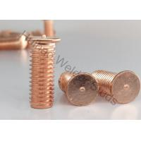 China Flanged Drawn Arc Stud Welder Pins With Imperial Thread Or Metric Thread 0.625 on sale