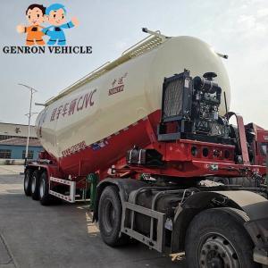 China 25m3 Pneumatic Dry Bulk Trailers on sale