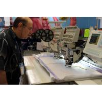 Automatic Multi-head Sequin Embroidery Machine for T-shirt / cap Manufactures
