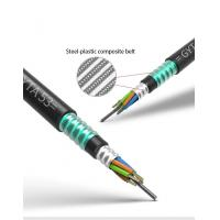China Double Armoured Outdoor Fiber Optic Cable Communication Large Core Structure Directly Buried Anti Ant on sale