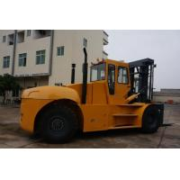 China good quality 25t to 28t diesel forklift with cabin 25ton container reach stacker 25ton container forklift on sale