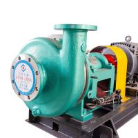 China Close Coupled Chemical Transfer Pump Corrosion Wear Resistance Casting Material on sale
