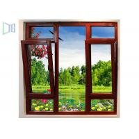 Heat Insulated Aluminium Tilt And Turn Windows For Residential / Appartment Manufactures