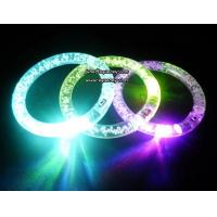 For Christmas holiday LED flashing Acrylic bracelet, wristband Manufactures
