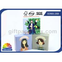 Rigid Cardboard or Art Paper Decorative Packaging Boxes / Gift Paper Boxes with Lids Manufactures