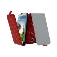 Shock Proof Samsung Leather Phone Cases For Samsung Galaxy 9500 Protective Cover Manufactures