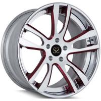 Buy cheap New Style Best Price 2-PC Forged Rims For Ferrari 458 Italia 22inch Car Rims from wholesalers