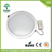 High Lumen 15w LED Round Panel Lighting 110v / 220v With Cold Light Source Manufactures