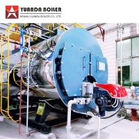 PLC Automatic Control 4000kghr Diesel Oil Fired Steam Boiler for Corrugator Machine Manufactures
