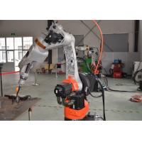 China Fuel Tank Industrial Welding Robots in Chennai , Welding Robot Machine Customized Positioner on sale