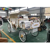 Tourist Large Cinderella Carriage For Birthday Party Generous Style 500KG Manufactures