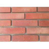 China 3D51-3 Clay Thin Veneer Brick Turned Color Veneer Brick With Smooth Surface Edge Damages Style on sale