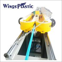 PVC / PP / HDPE SWC or Single Wall Corrugated Pipe Extruder Machine Manufactures