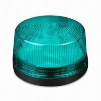 Strobe Flasher in Green Color for Warning, with 6 to 12V DC Voltage and 150mA Current Consumption  Manufactures