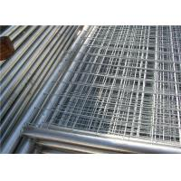 Buy cheap Contruction protection steel Australian temporary fencing with round pipe from wholesalers