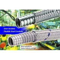 Delikon heavy series Over Braided Flexible metal Conduit,Conduit connector for industry cables management Manufactures