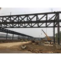 Buy cheap Structure Steel Frame Overhead Corridors Gallery Bridge Connecting Buildings from wholesalers