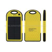 China Universal Waterproof Portable Solar Power Bank Mobile Charger 5000mah on sale