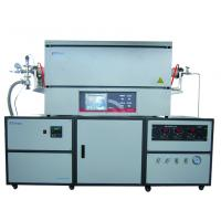 China 1300℃ Laboratory Tube Furnace With Imported Ceramic Fiber And Resistance Wire on sale