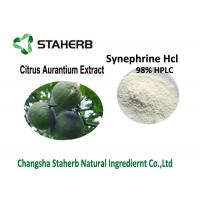 98% Synephrine Citrus Aurantium Extract , Bitter Orange Peel Extract HCL Water Soluble Manufactures