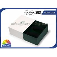 Quality Apparel / Shoes Packaging Rigid Paper Gift Box Drawer Shaped Custom Logo for sale