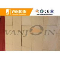 China Anti Cracking Decorative Stone Breathable Green Soft Ceramic Wall Tile Excellent Flexibility on sale