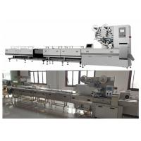 Low Noise Chocolate Bar Packaging Machine With Industrial Touch Screen Manufactures