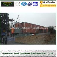 China Steel Structure Contractor For Structural Steel Fabrication And High-strength Steel Construction Manufactures