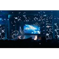 China Waterproof Indoor Curtain LED Display IP65 , SMD 3535 Advertising LED Display Boards on sale