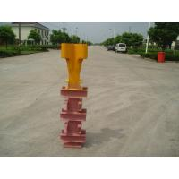 China Potain Tower Crane Spare Parts Q345 Steel Finxing Angle Yellow Color With Waterproof Plating on sale