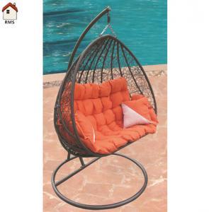 comfortable large garden rattan basket chair RMS-0003