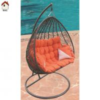 Quality comfortable large garden rattan basket chair RMS-0003 for sale