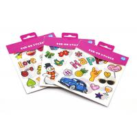 China Dry Transfer Temporary Custom Tattoo Stickers 4 * 5.8 Cm Size For Clothes on sale