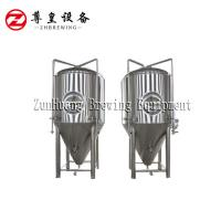 China Lager / Ale 2000 Litre Ibc Tank , Stainless Steel Fermenter For Beverage Factory on sale