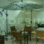 Banana shape courtyard umbrella Manufactures
