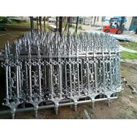 Hot Dipped Galvanized Ornamental Cast Iron Fence Barrier Panels Manufactures
