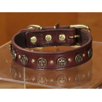 Blank leather Pet collar GCDC-041 Manufactures