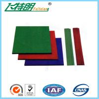China Wear Resistance Outdoor Playground Rubber Tiles , Safety Kids Floor Pads on sale