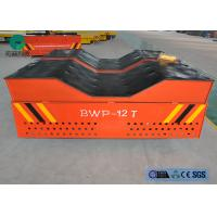 China 10t  capacity electric rubber wheel transfer cart for Malaysia coil handling on sale