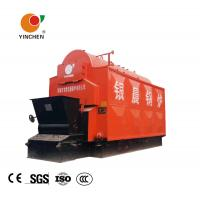Coal Fired Chain Grate Stoker Boiler 184-194 ℃ Steam Temperature Customized Manufactures